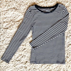 Striped Old Navy Perfect Tee